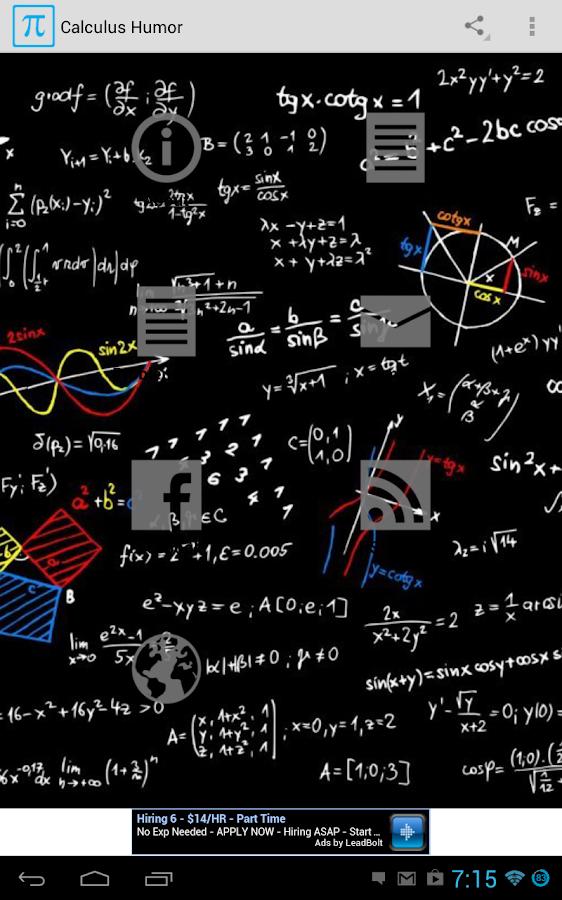 Calculus Humor (Old) - screenshot