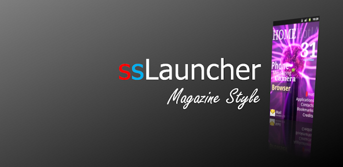 ssLauncher the Original v1.4.3 (Paid Version) Android Apk App Download