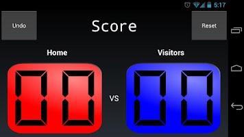 Screenshot of Score Tracker