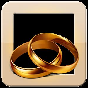 結婚式フレーム