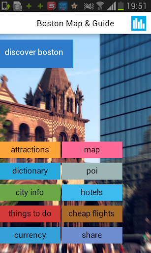 Boston Offline Map Guide