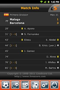 LiveScore- screenshot thumbnail