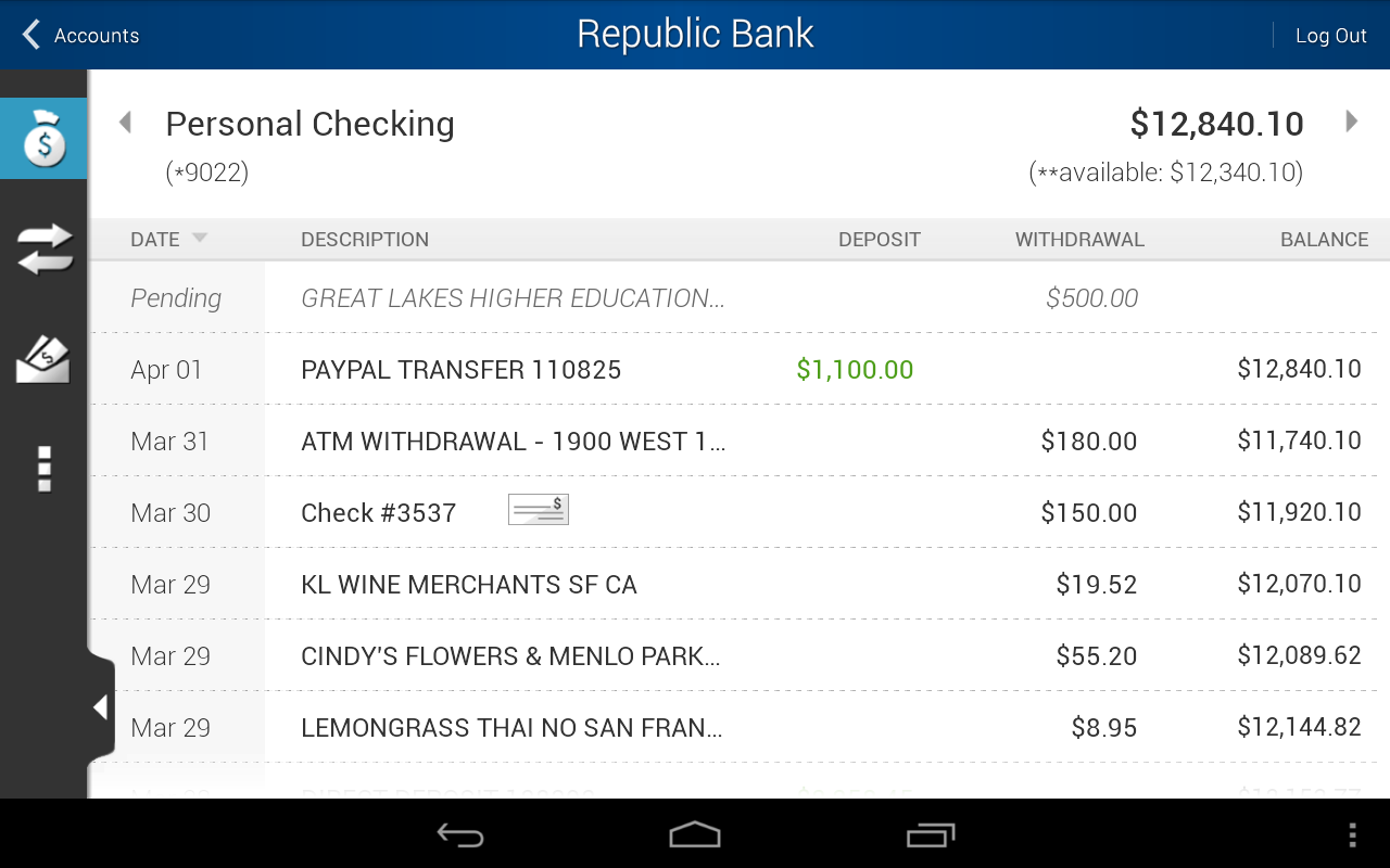 Republic Bank Mobile FL/OH - screenshot