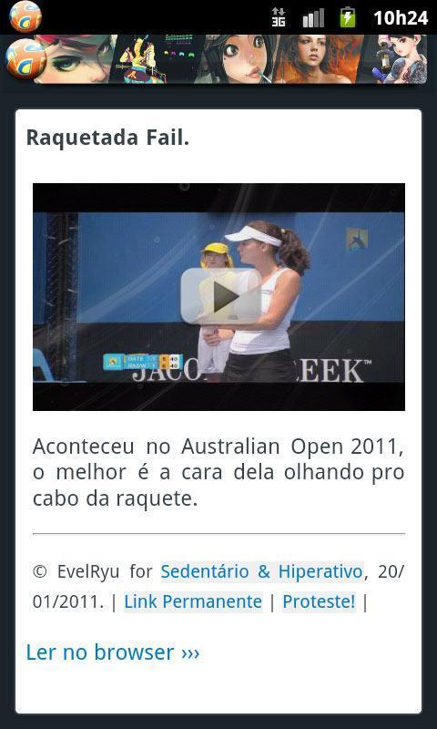 Sedentário & Hiperativo - screenshot