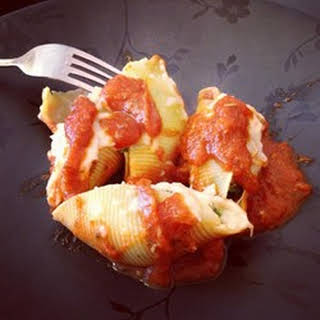Cheese and Bacon-Stuffed Pasta Shells.