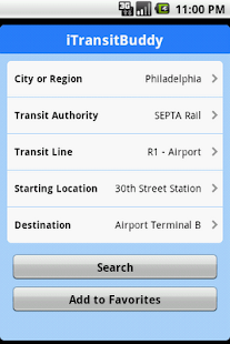 iTransitBuddy SEPTA Lite- screenshot thumbnail