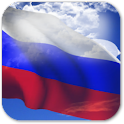 3D Russia Flag Live Wallpaper logo