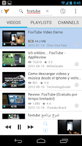 FoxTube - YouTube Player v1.2.1