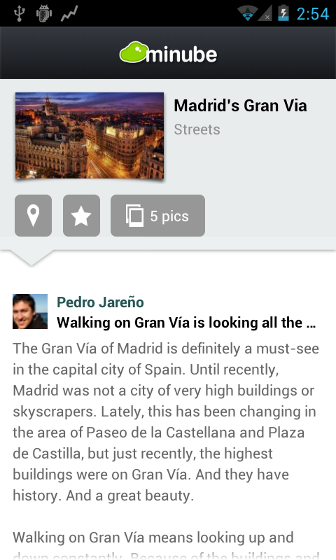 Madrid City Travel Guide Map- screenshot