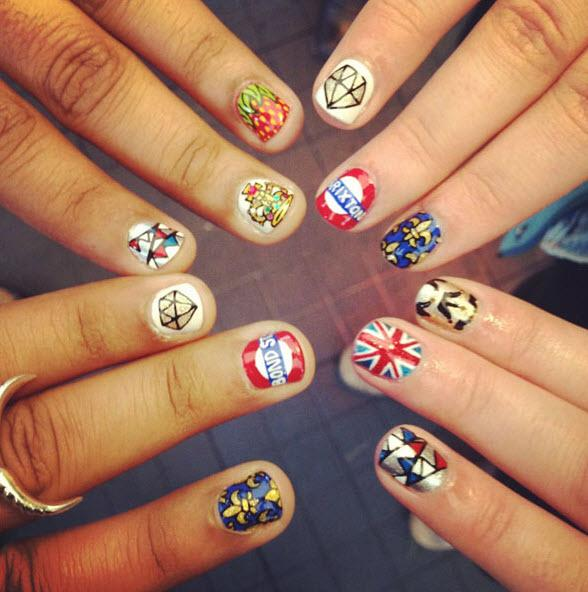 Nail art designs using household items : Nail art idea android apps on google play