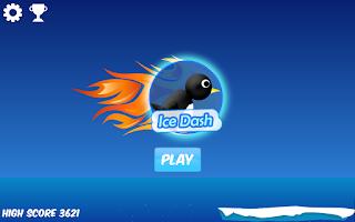Screenshot of Ice Dash - Penguin Run