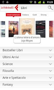 la Feltrinelli mobile - screenshot thumbnail