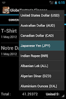 Screenshot of Currency Converter n Manager