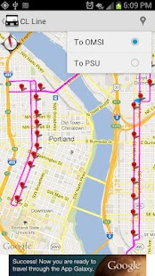 YourBus Portland Streetcar - screenshot thumbnail