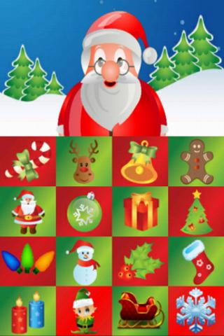 Toddler Christmas Touch Game