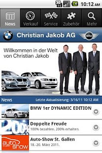 Christian Jakob AG - screenshot thumbnail