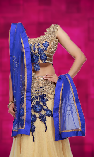 Ghagra Choli Photo Suit