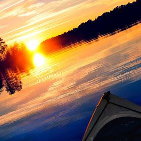 Beautiful day to kayak Lake Warren! by Michael Shaffer - Sports & Fitness Watersports