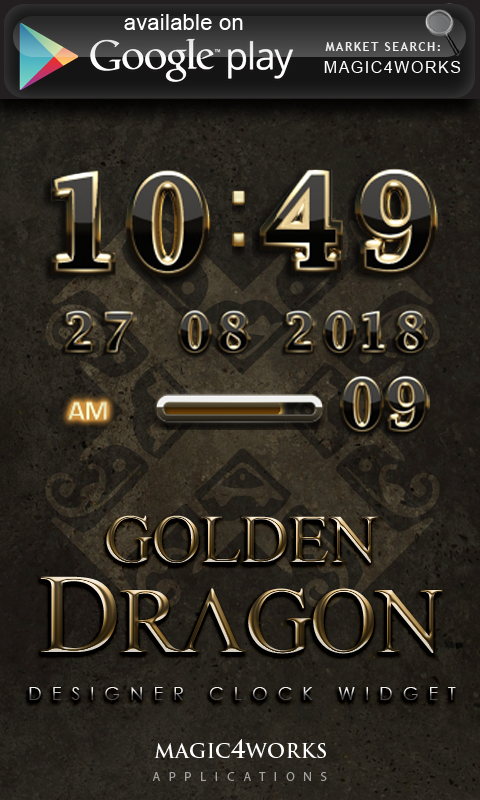 Golden Dragon GO Locker - screenshot