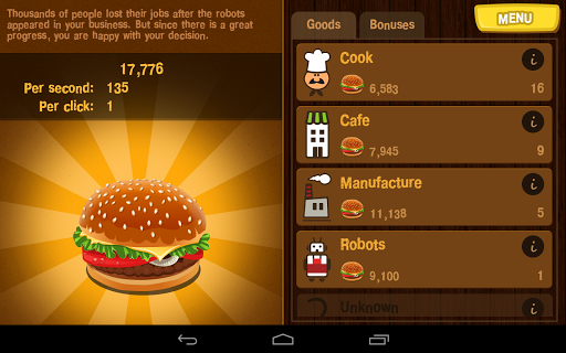 Burger Clicker 1.1.2 screenshots 9