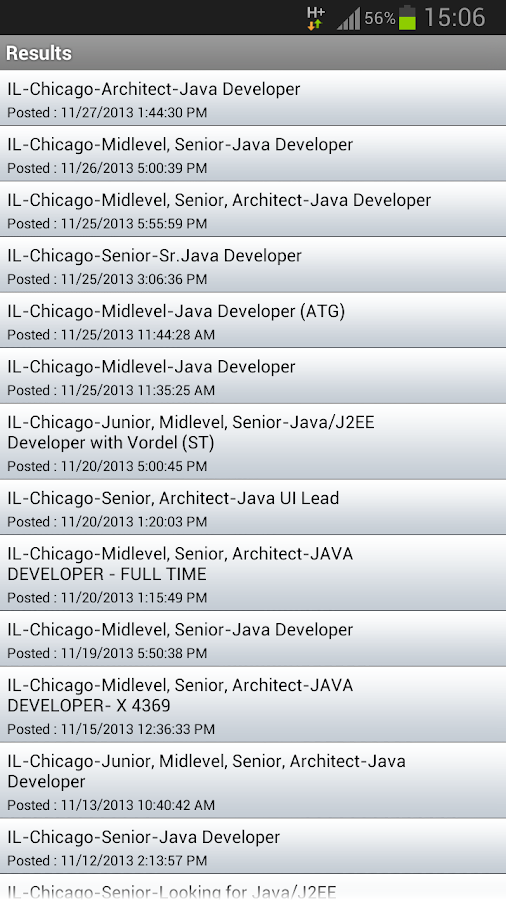 TechFetch Jobs- screenshot