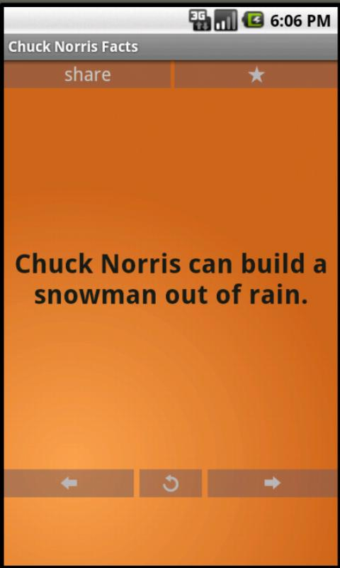 Chuck Norris Jokes - screenshot
