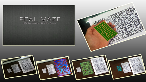 Real Maze-FREE 3D Reality Maze game (apk) free download for Android/PC/Windows screenshot