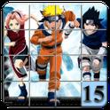 15 puzzle Naruto icon