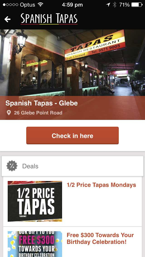Spanish Tapas Restaurant- screenshot