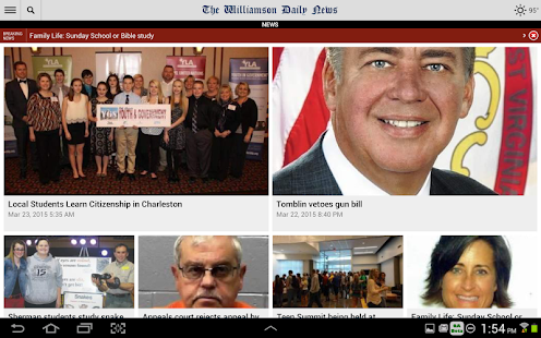 Williamson Daily News- screenshot thumbnail