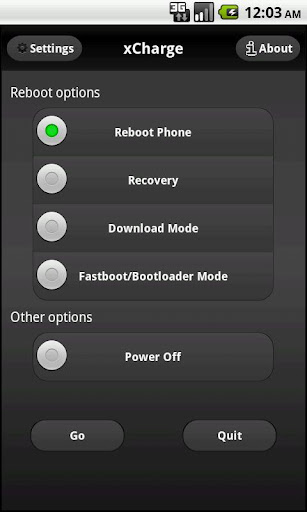 xCharge reboot options 1.6 apk