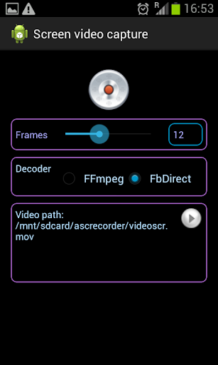 Screen recorder Ascrecorder
