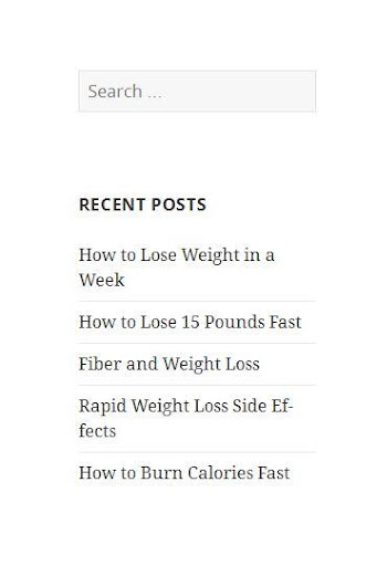 Start Losing Weight
