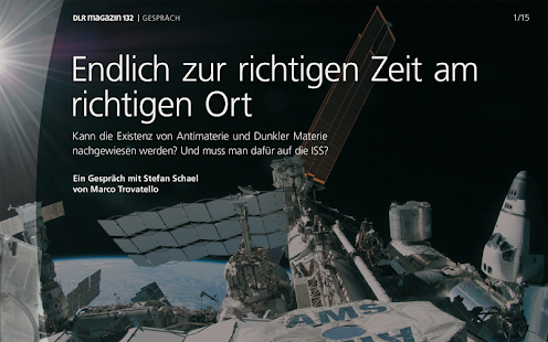 DLR Magazin - screenshot thumbnail