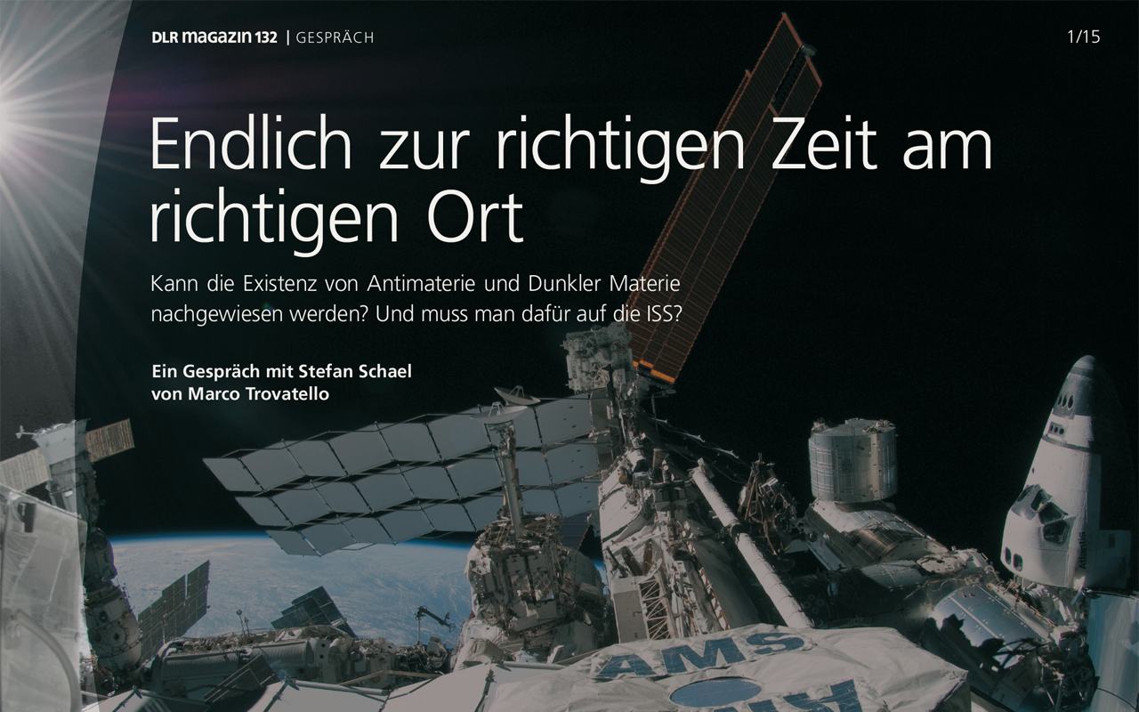 DLR Magazin - screenshot