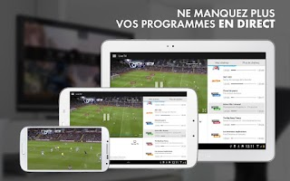 Screenshot of myCANAL, par CANAL+ & CANALSAT