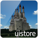 castle and sky LWallpaper icon