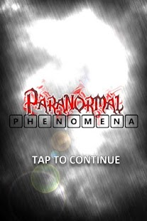 Paranormal Phenomena screenshot