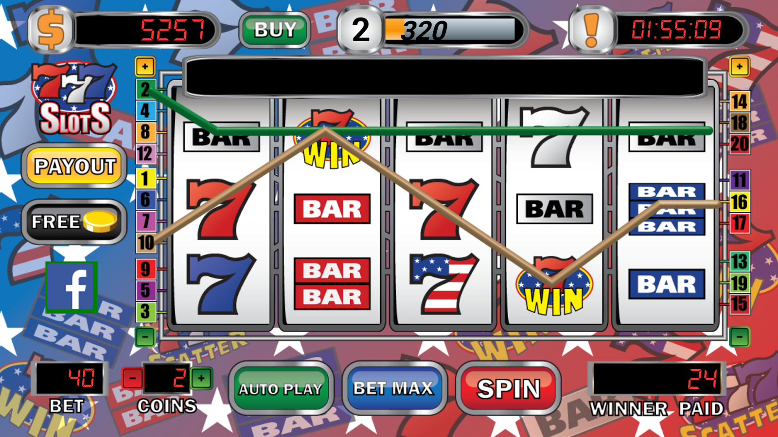triple 7 slot machines free