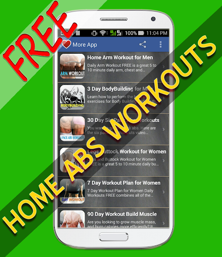 Home Abs Workouts free