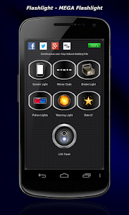 Flashlight - MEGA Flashlight - screenshot thumbnail