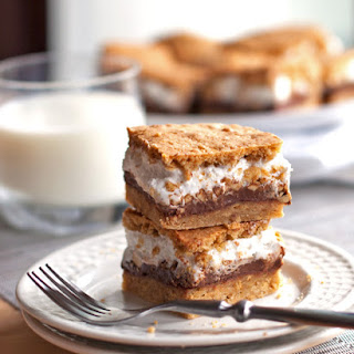Peanut Butter S'mores Bars.