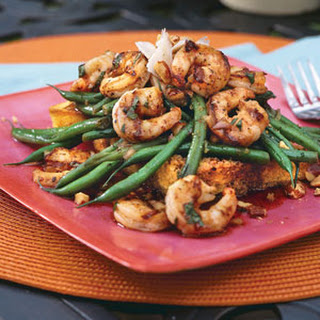 Grilled Shrimp-and-Green Bean Salad