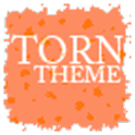 TornPaper Orange Apex/ADWTheme icon