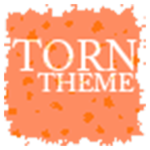 TornPaper Orange Apex/ADWTheme