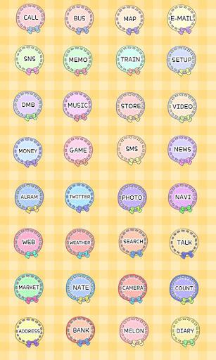 【免費娛樂App】CUKI Theme Pastel doily icon-APP點子
