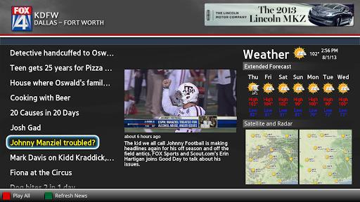 MY FOX DFW News Google TV