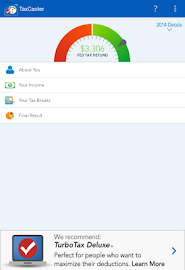 TaxCaster by TurboTax - Free Screenshot 15
