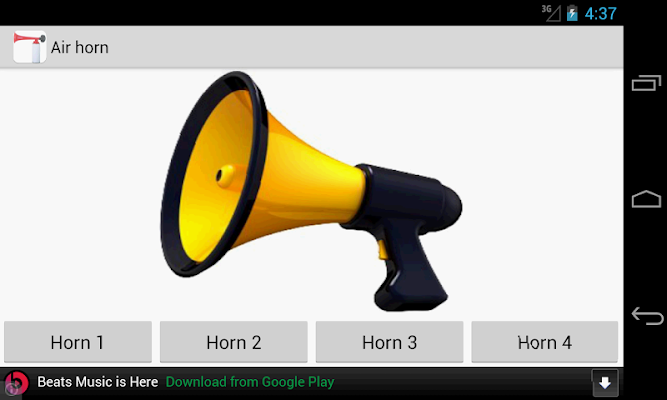 Air Horn - screenshot