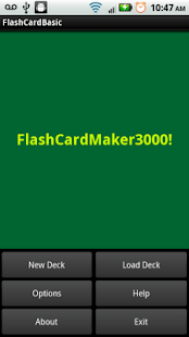 FlashCardMaker3000! Free Trial - screenshot thumbnail